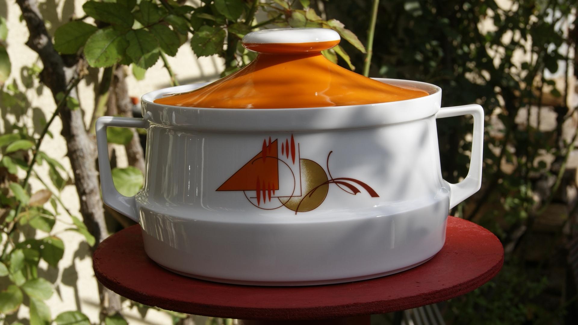 Soupière porcelaine BAVARIA 70's