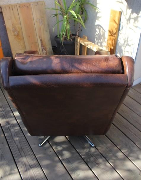 fauteuil de salon pivotant 32 vintage by fabichka. Black Bedroom Furniture Sets. Home Design Ideas
