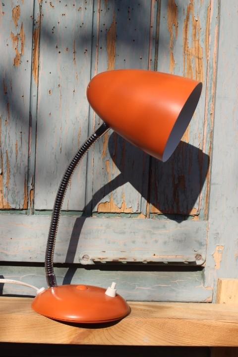 lampe cocotte orange vintage by fabichka. Black Bedroom Furniture Sets. Home Design Ideas