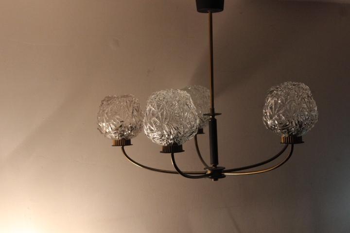 lustre des ann es 50 vintage by fabichka. Black Bedroom Furniture Sets. Home Design Ideas