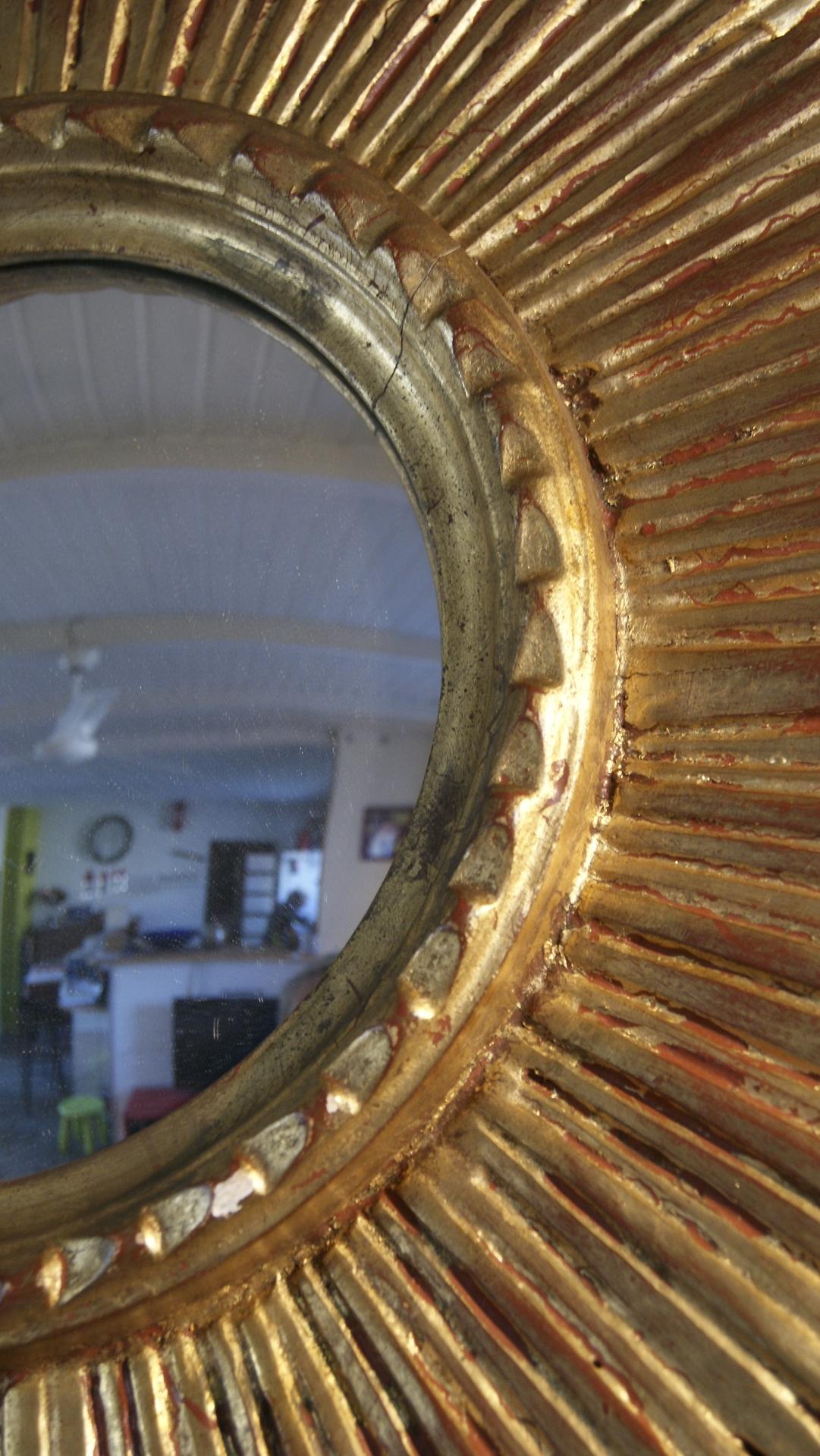 Miroir soleil il de sorci re vintage by fabichka for Miroir des 7 astres