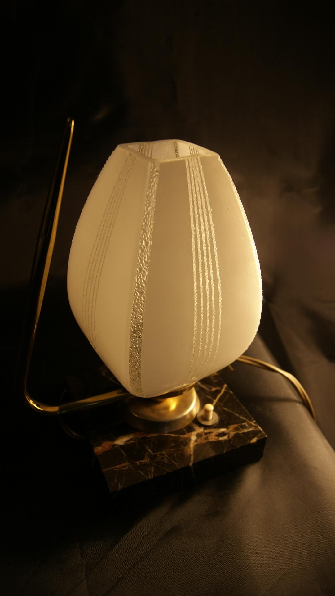 Lampe de chevet art d co vintage by fabichka - Interrupteur lampe de chevet ...