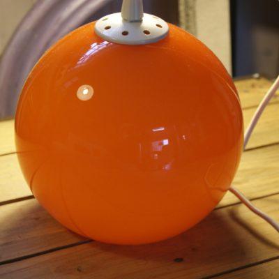 lustre opaline orange