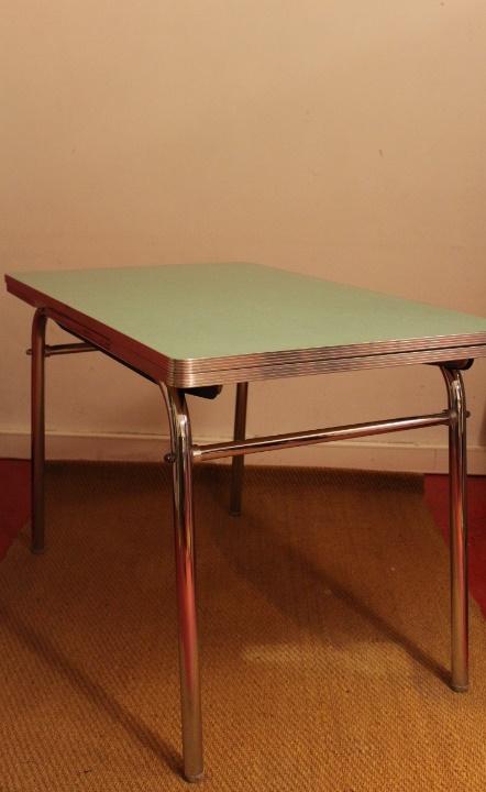 table formica de luxe ann es 60 vintage by fabichka. Black Bedroom Furniture Sets. Home Design Ideas
