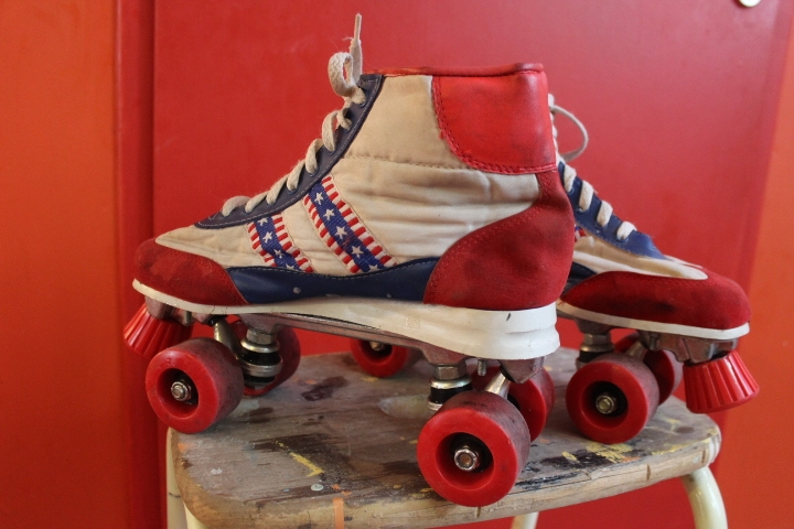 Patin A Roulette Vintage : patins roulettes 3 vintage by fabichka ~ Dailycaller-alerts.com Idées de Décoration