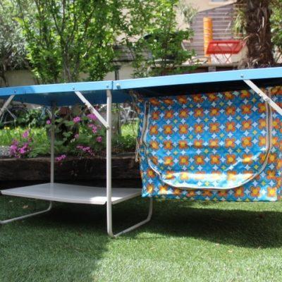 malette cuisine de camping avec garde manger