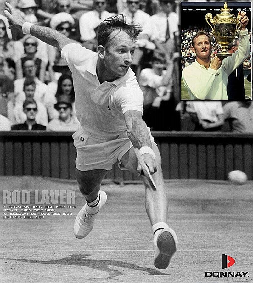 Raquette tennis Rod Laver Donnay