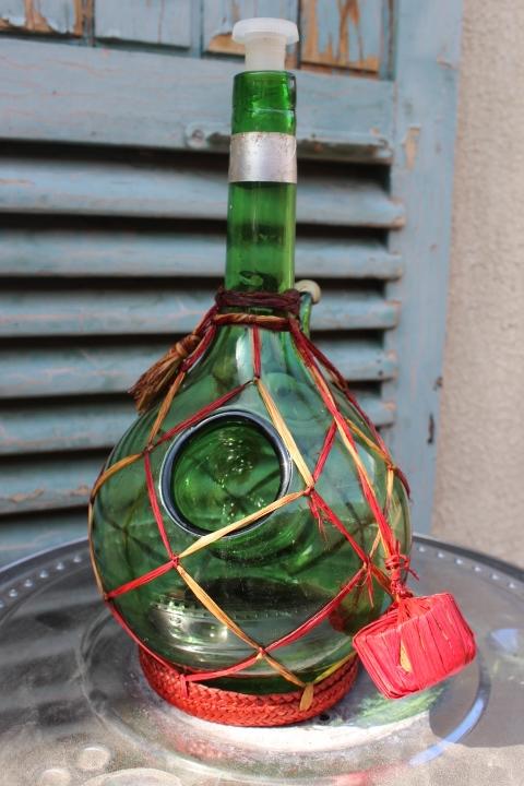 Carafe en verre avec chambre de glace vintage for Bouche a bouche en chambre