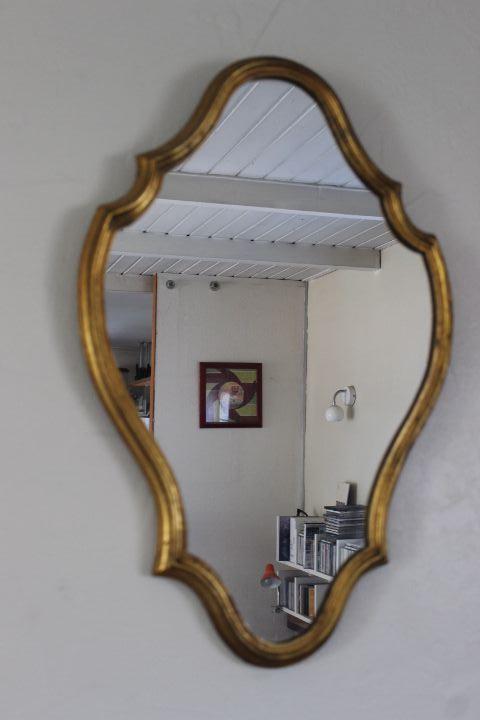 Miroir d coratif ancien de style for Miroir decoratif