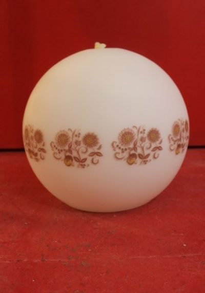 Lustre globe opaline