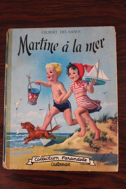 Livre pour Enfants de la célèbre collection des Martine