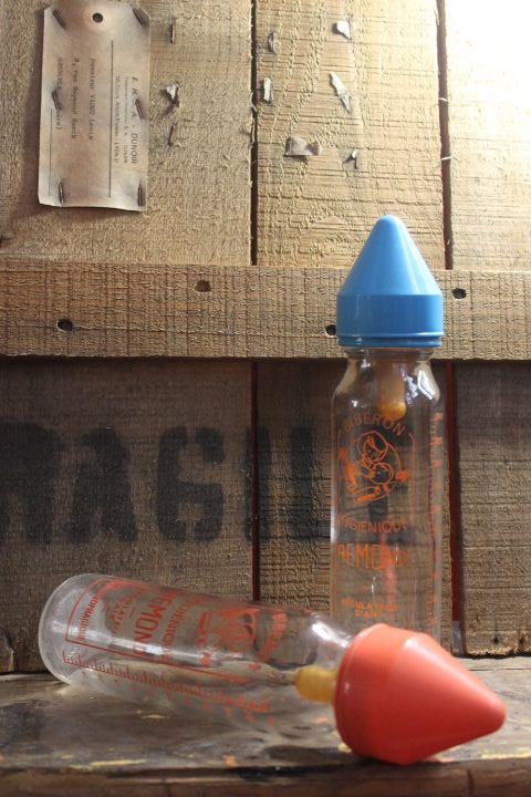 biberon en verre 1970 de la marque REMOND fabrication française