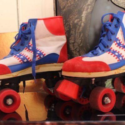 Roller quad derby - 1980