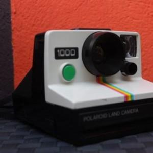 polaroid 1000 série bouton déclencheur vert