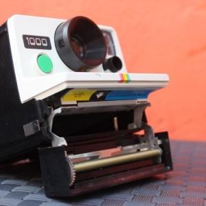 Appareil photo instantané polaroid 1000