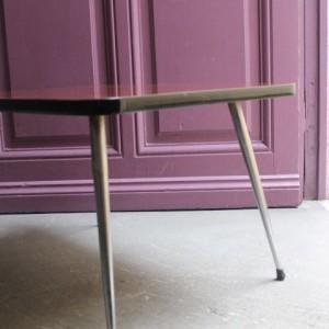 table basse en formica 60's
