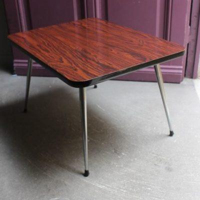 table basse en formica des années 60