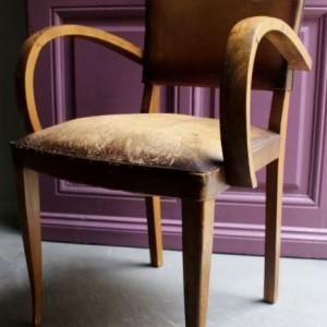 fauteuil bridge, fauteuil club vintage