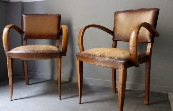 fauteuil bridge 1950 vintage by fabichka. Black Bedroom Furniture Sets. Home Design Ideas