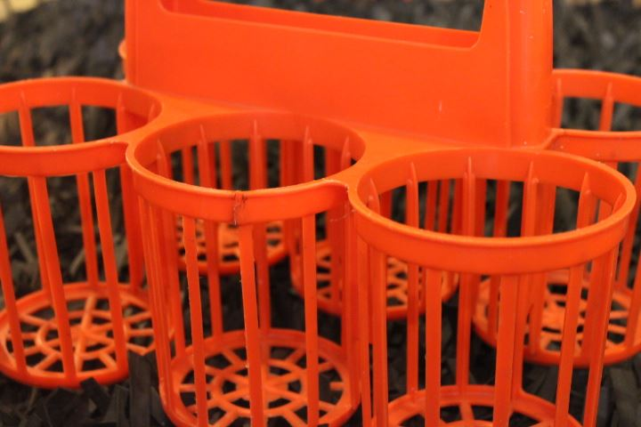 panier porte bouteilles orange. Black Bedroom Furniture Sets. Home Design Ideas