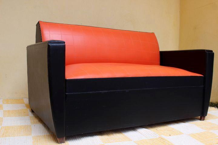 Canapé vintage style Rockabilly