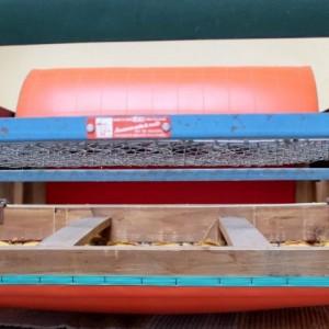 Canapé Rockabilly vintage en skaï