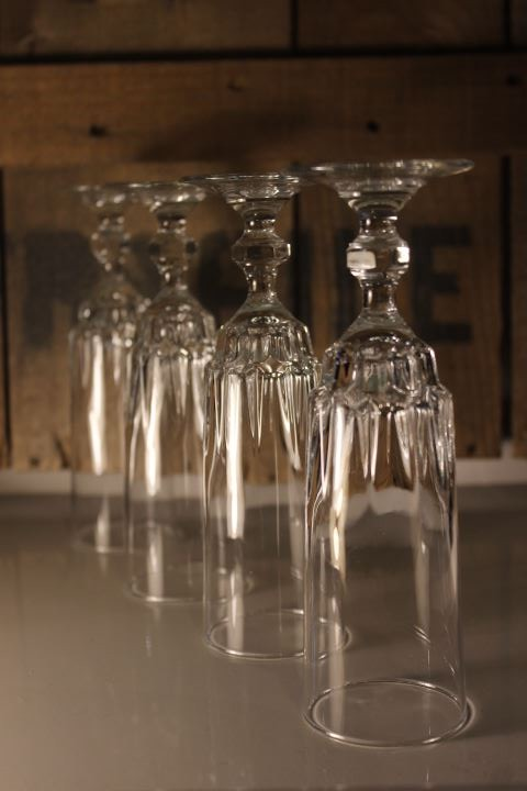 Flûte à champagne Luminarc vintage