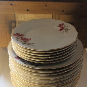 assiettes en porcelaine made in Italy