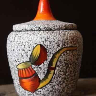 pot à tabac en céramique de style vallauris