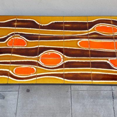 Table basse vallauris carreaux céramique
