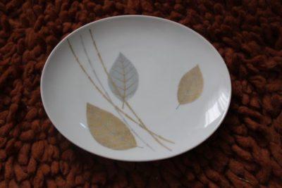 assiette à dessert porcelaine Thomas vintage