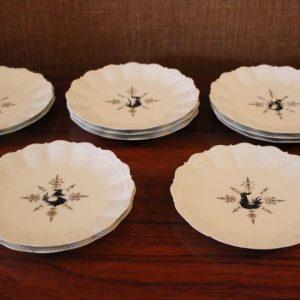 Service de table porcelaine de limoges A GIRAUD & BROUSSEAU