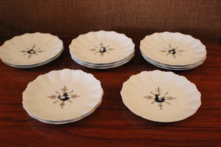 Ancien service de table en porcelaine de limoges giraud - Service de table en porcelaine de limoges ...