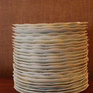 23 assiettes plates porcelaine de Limoges A GIRAUD