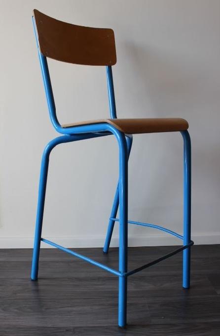 chaise haute ecolier 1970 vintage by fabichka. Black Bedroom Furniture Sets. Home Design Ideas