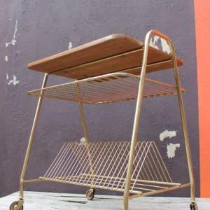 Table chaine hifi vintage