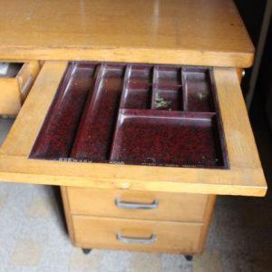 bureau vintage années 50