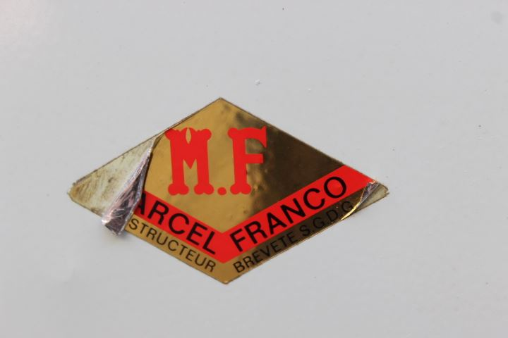 vélo appartement vintage marcel Franco