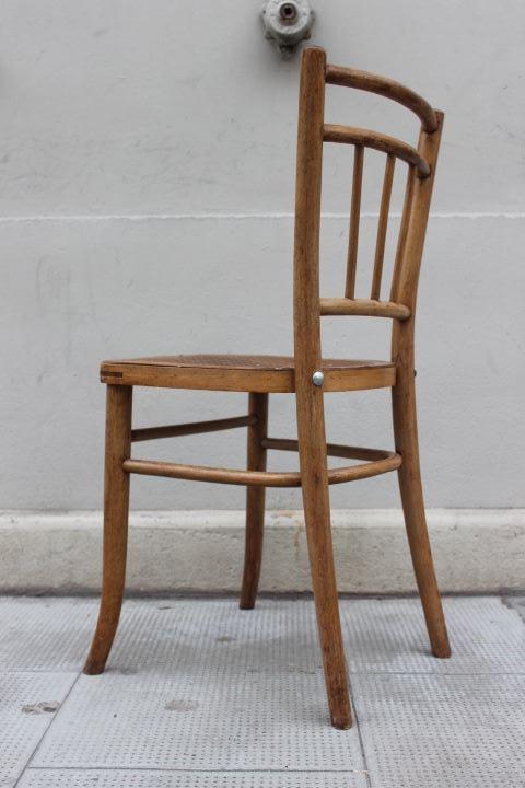 Anciennes chaises de bistrot thonet fabriqu e en tch co for Chaise bistrot thonet
