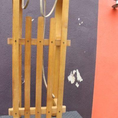 Luge bois vintage marque Donnay