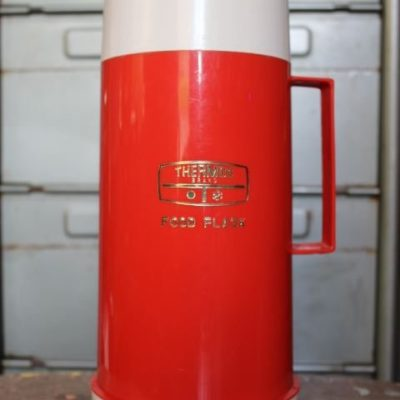 Thermos porte aliments vintage