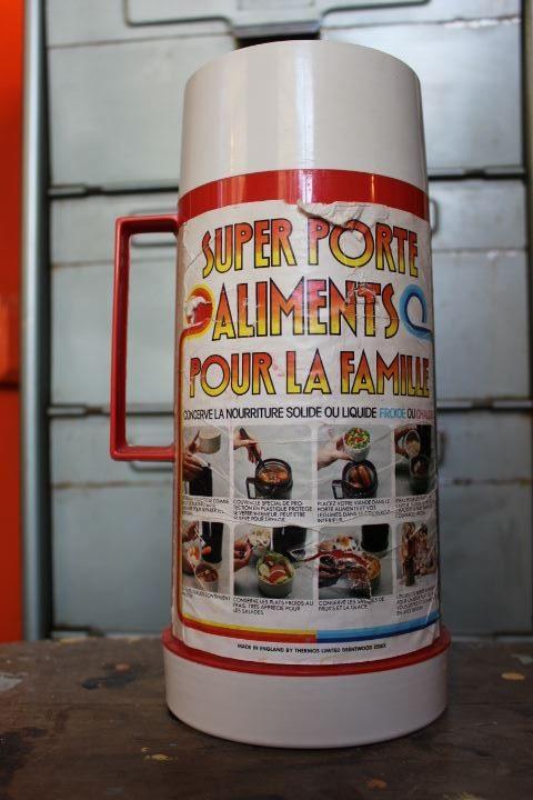 Thermos porte aliments vintage