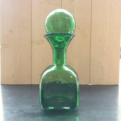 Container en verre vintage