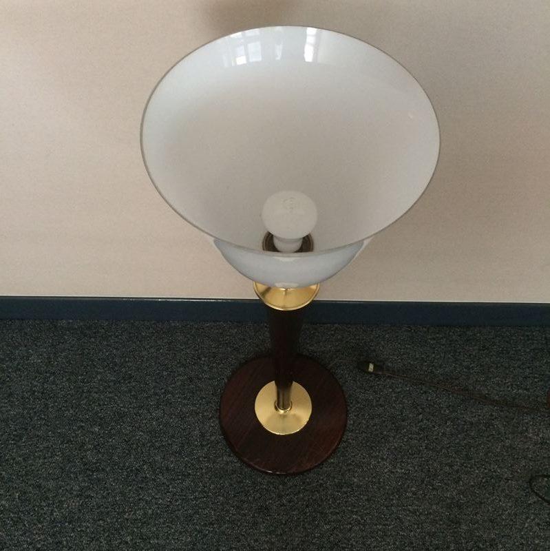 Lampe de bureau mazda art d co for Art deco lampe