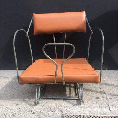 Ancien siège vélo vintage