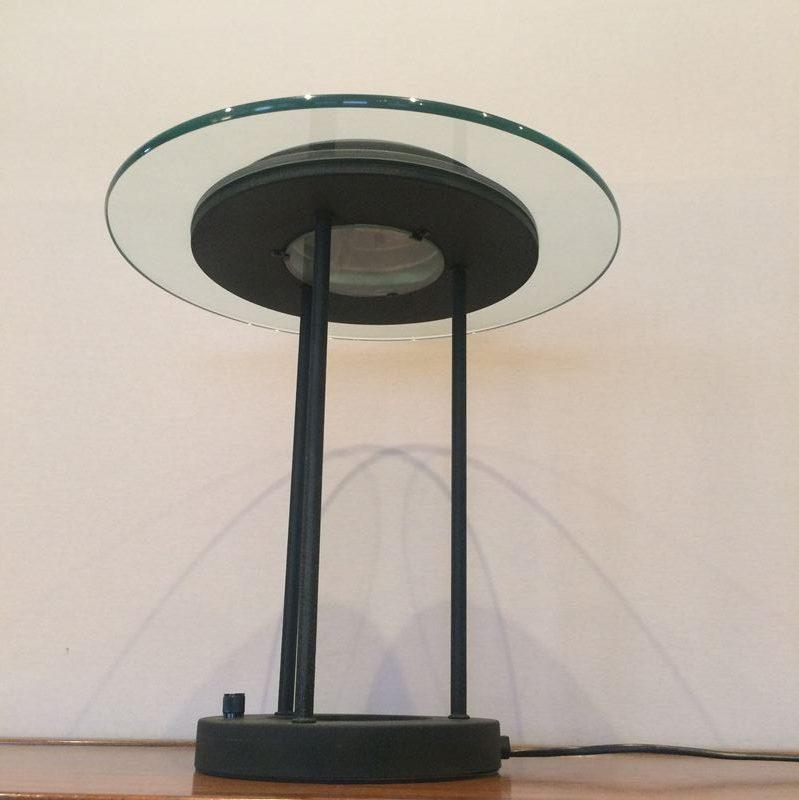 Lampe de bureau design contemporain avec variateur de lumi re - Lampe de bureau design ...