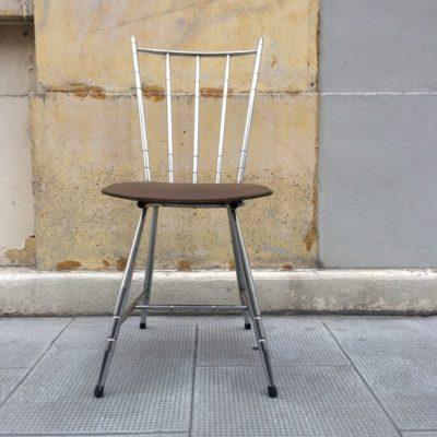 Chaise cuisine rétro vintage