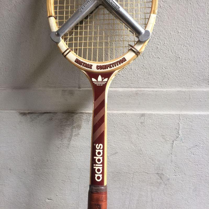 Raquette de tennis adidas vintage mod le nastase comp tition - Raquette de tennis de table competition ...