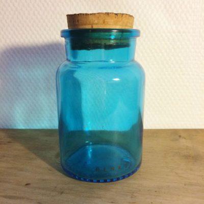 Bocal vintage Henkel bleu