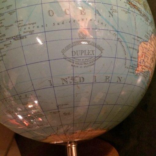 Globe terrestre Duplex vintage